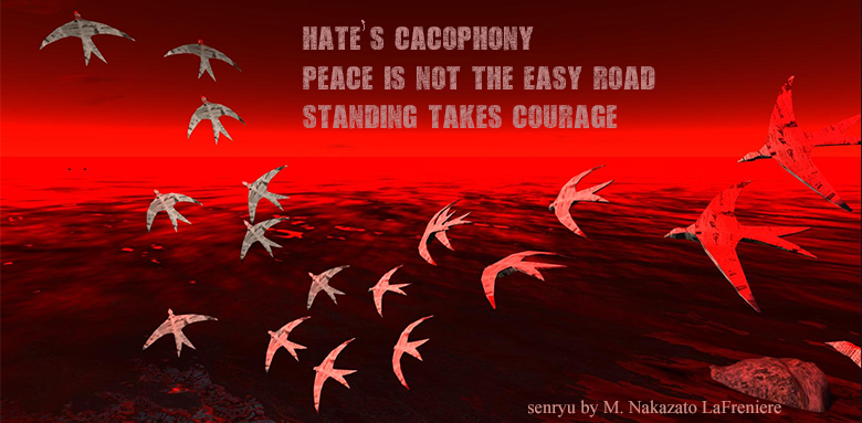 Daily haiku / senryu : Cacophony