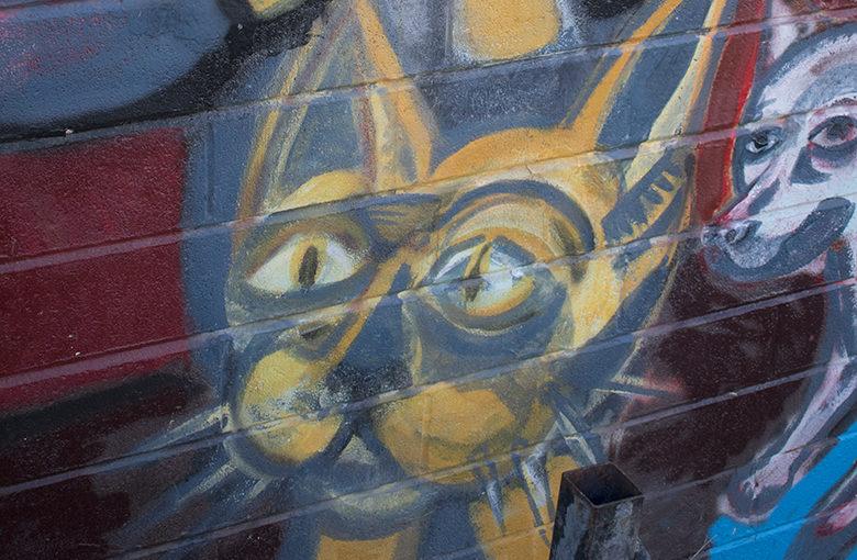 Senryu : mural kitty