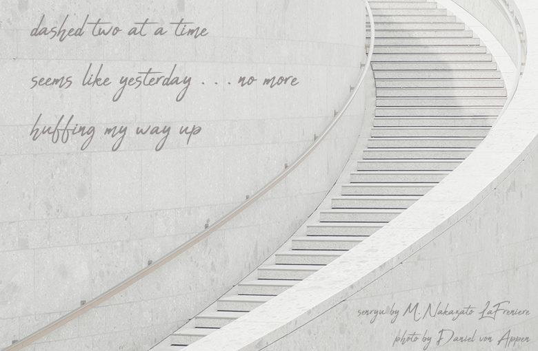 Senryu : stairs