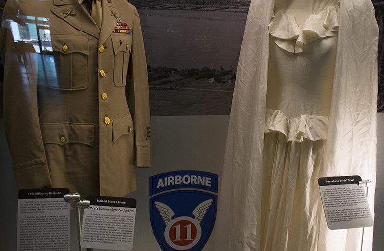 Senryu : parachute bridal gown