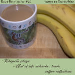 coffee cup and bananas, photo by M. LaFreniere, all rights reserved